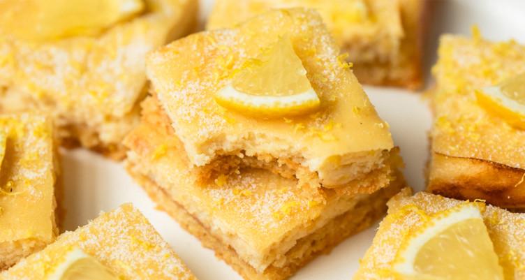 Gâteau au citron low carb cétogène