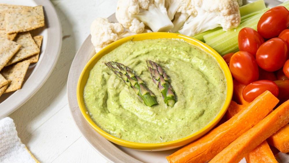 Purée d'asperges vertes(ou sauce)