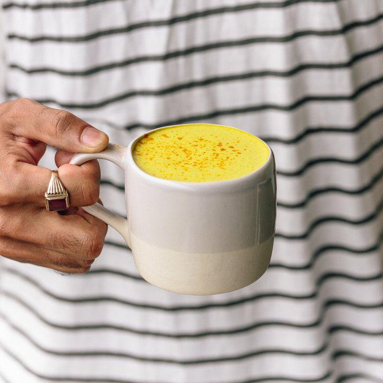 Curcuma latte titanium